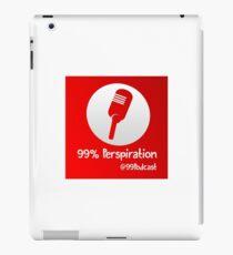 99% Perspiration iPad Case/Skin