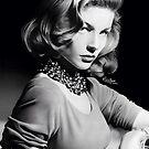 Lauren Bacall Tribute, Graphite, 16½ x 14¼ Windsor & Newton Bristol board by MrYorkie
