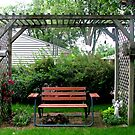 A Romantic Seat  For Two by Linda Miller Gesualdo