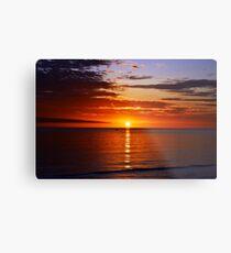 Lámina metálica Sunset On Brighton Beach - SA Australia