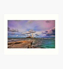 St. Mary's Lighthouse Art Print
