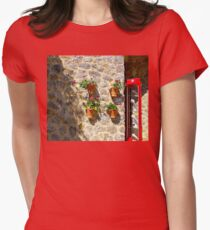 Geraniums And Necklaces Women's Fitted T-Shirt