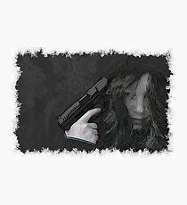 Despair drawn Art Photographic Print