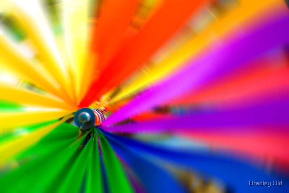 Rainbow Spin by Bradley Old
