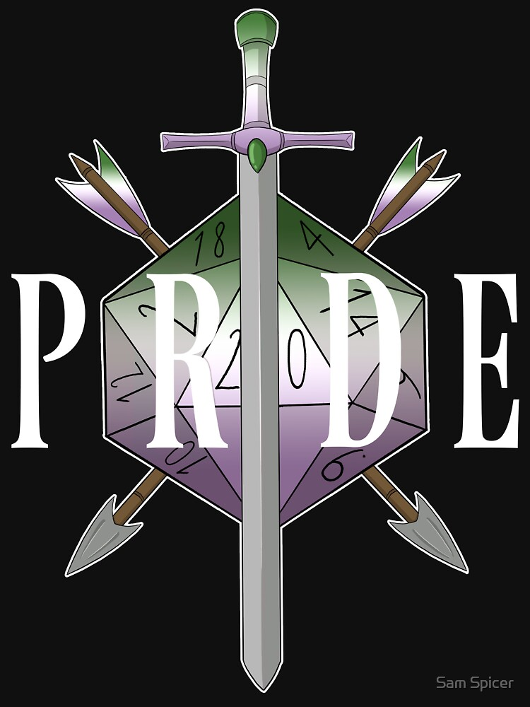 Critical Pride! - Genderqueer Pride by flailingmuse