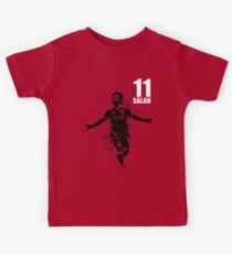 SPORTS ART #THE KING on red Kids T-Shirt