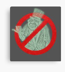 Beware of Hitchhiking Ghosts Haunted Mansion Canvas Print