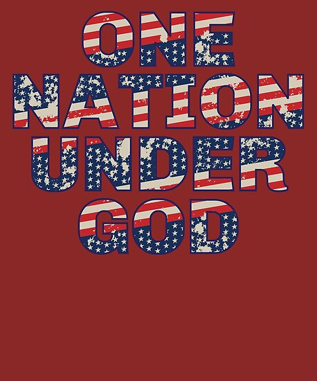 847480a38 4th Of July Shirt One Nation Under God Patriot