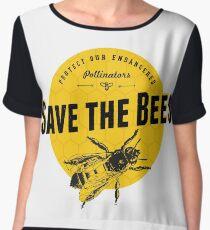 Save the Bees Chiffon Top