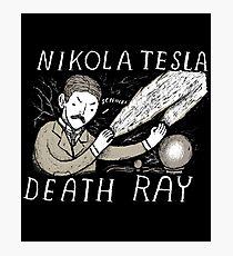 nikola tesla death ray Photographic Print