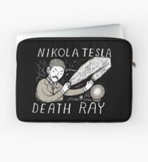 nikola tesla death ray Laptop Sleeve