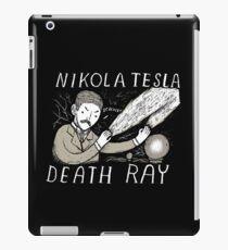 nikola tesla death ray iPad Case/Skin