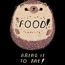 food hedgehog by louros