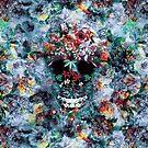 Skull Flower by RIZA PEKER