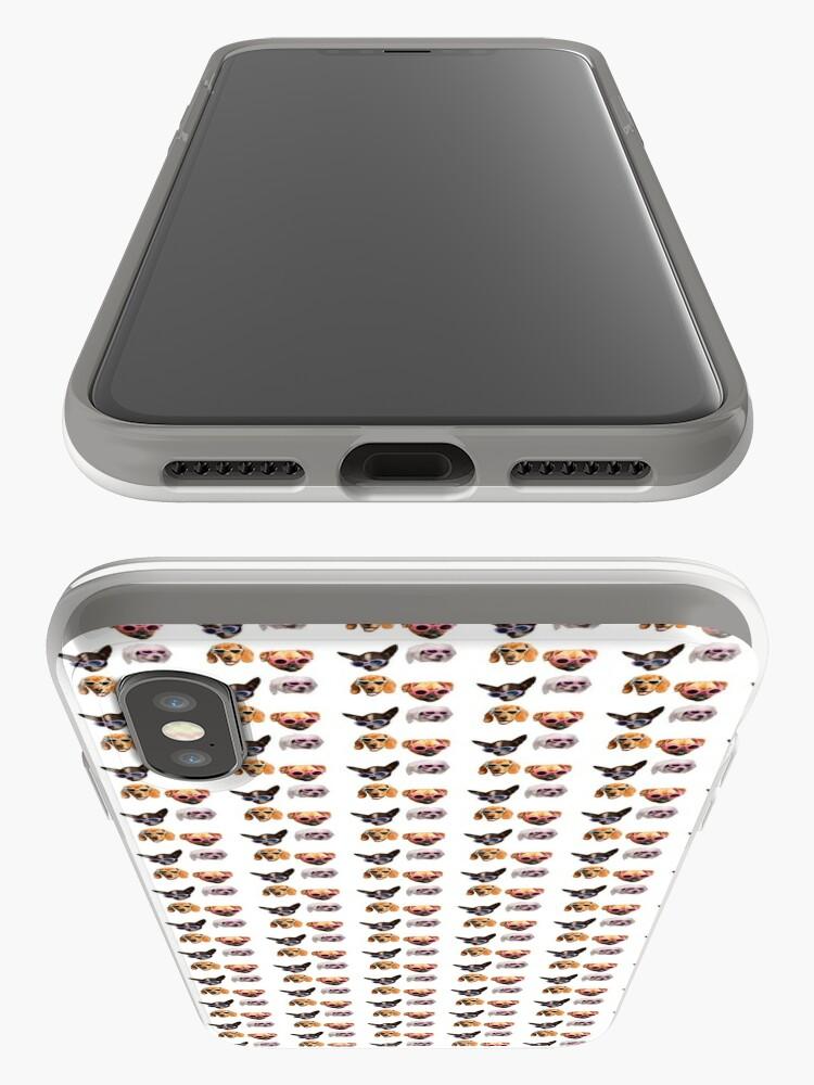 Vista alternativa de Vinilos y fundas para iPhone Pegatinas Doggo: Gafas De Sol # 4