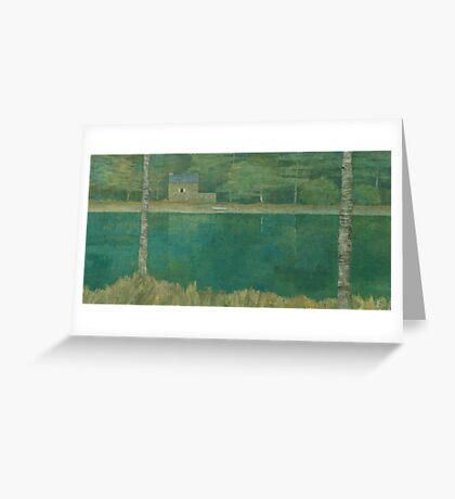 The Green Lake Greeting Card