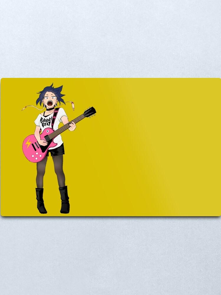 Kyoka Jiro Rockstar Earphone Jack My Hero Academia Metal Print