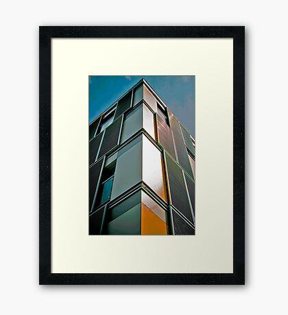 Fold Away Flats! Framed Print