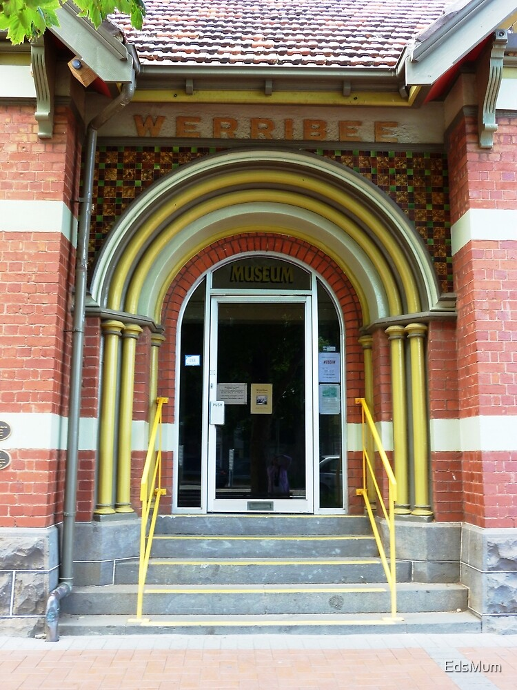 Doorway to Old Town Hall - Werribee, Vic. by EdsMum