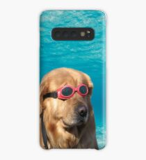 Swimmer Dog Case/Skin for Samsung Galaxy