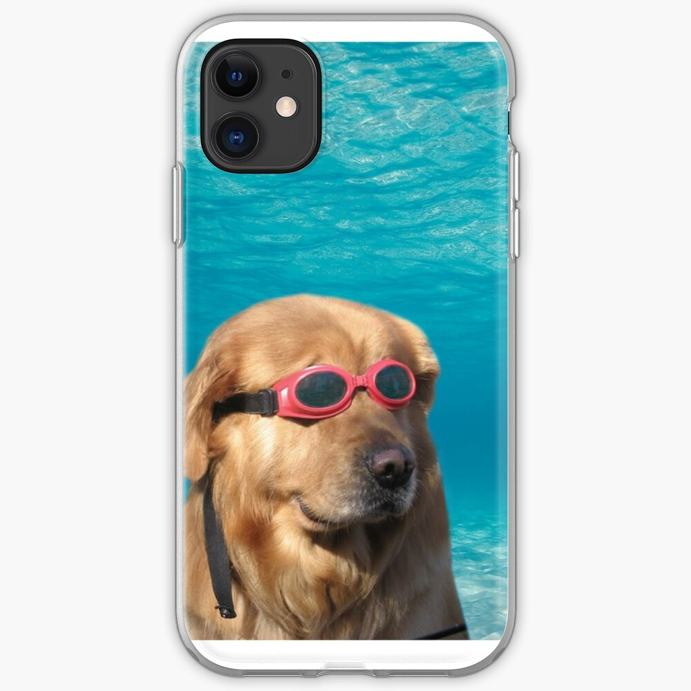 Swimmer Dog iPhone Case & Cover