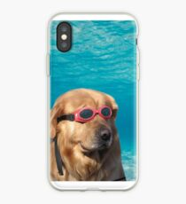 Swimmer Dog iPhone Case