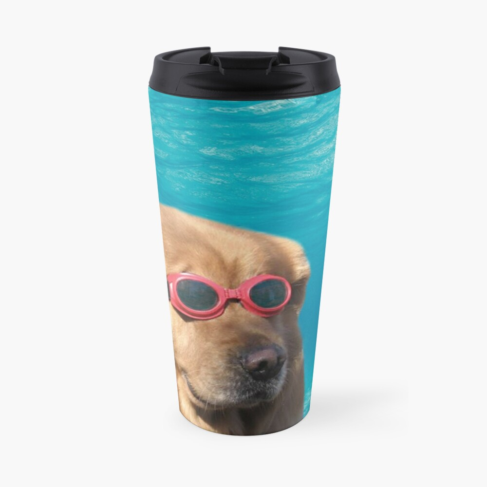 Swimmer Dog Travel Mug