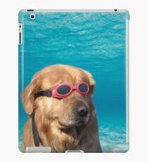 Vinilo o funda para iPad Perro nadador