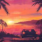 Tropical Sunset by Lizziefij