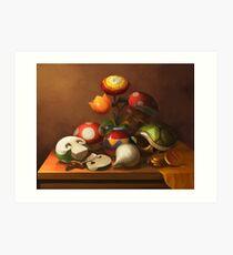 Mario Still Life Art Print