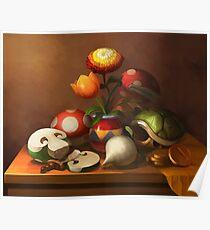 Mario Still Life Poster