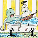 Bathtime With The Octopus by Shawna Rowe
