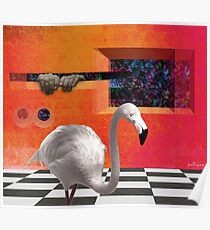 THE RED PORTAL with ALBINO BIRD Poster