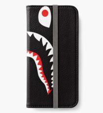 bape sark white  iPhone Wallet/Case/Skin