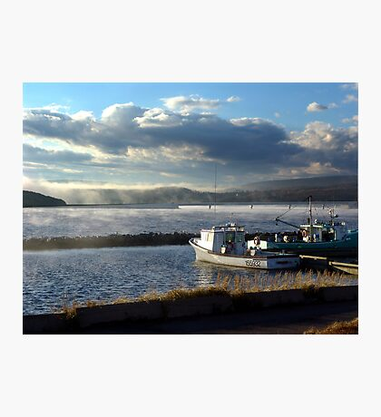 Morning at Margaree Harbour. Photographic Print