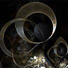 Golden Earrings by Gypsy Herndon