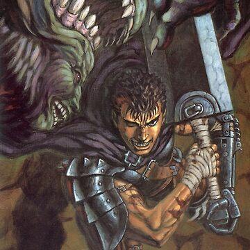 Berserk - Guts vs. Apostle by Filox