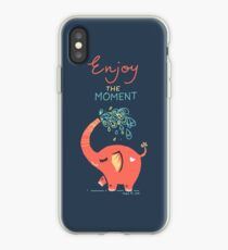Enjoy the Moment iPhone Case