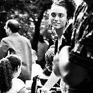 Hidden Gem - Woman in Black and White by Judith Oppenheimer