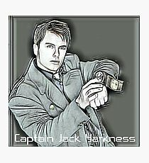 Captain Jack Harkness - Torchwood  Photographic Print