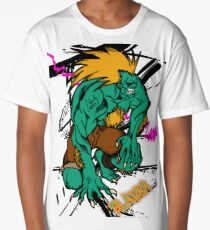 BLANKA FROM STREETFIGHTER SERIES Long T-Shirt