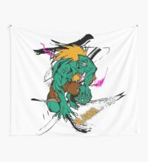 BLANKA FROM STREETFIGHTER SERIES Wall Tapestry