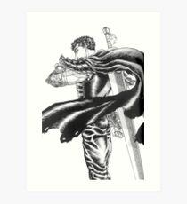 Berserk - Guts Art Print