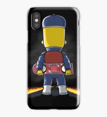 Bart to the Future iPhone Case