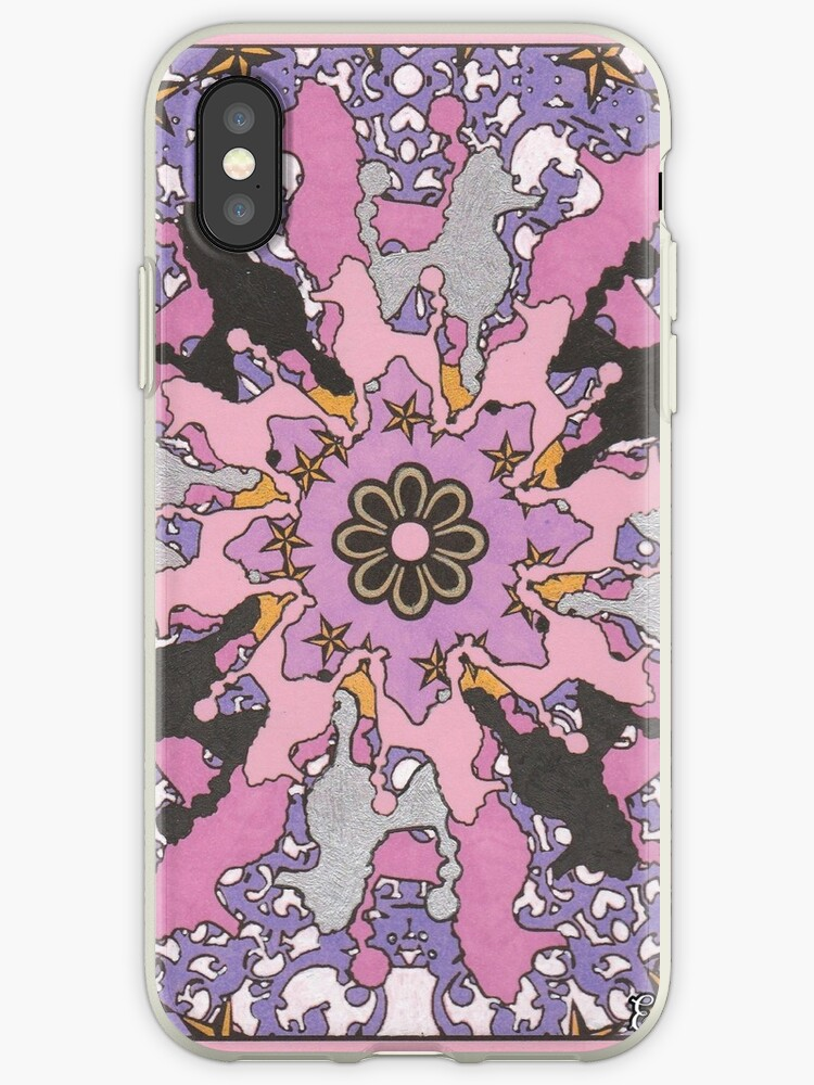 Pynellopy's, Pretty, Pink, Poodle, Pinwheel by Elizabeth Hall