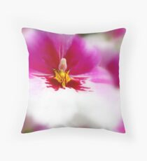 Orchid softness Throw Pillow