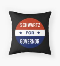 Dan Schwartz For Governor of Nevada Throw Pillow