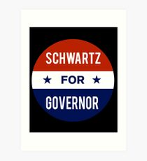 Dan Schwartz For Governor of Nevada Art Print