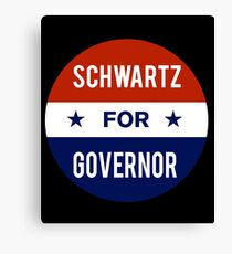 Dan Schwartz For Governor of Nevada Canvas Print