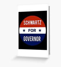 Dan Schwartz For Governor of Nevada Greeting Card